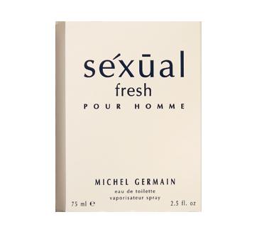 Séxuàl fresh homme eau de toilette vaporisateur, 75 ml