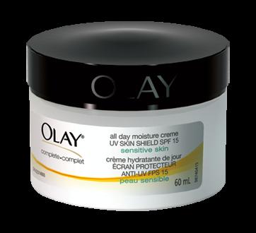 Hydratant quotidien soin complet, 60 ml, 100 % non parfumée, sans colorants