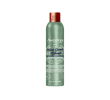 Fresh Greens Blend shampoing sec fraîcheur et volume, 142 g, éclat de verdure
