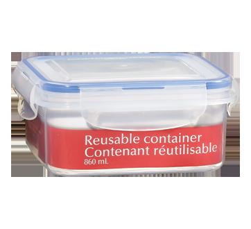 Contenant réutilisable, 860 ml
