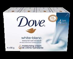 Image du produit Dove - Pain de beauté, 4 x 90 g, blanc