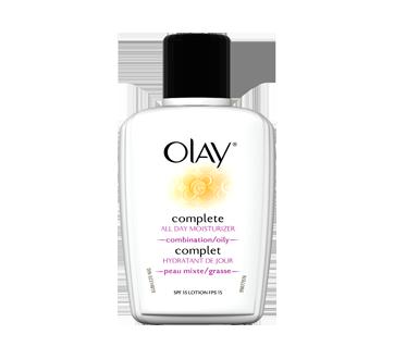 Complet hydratant de jour sans huile pour peau mixte/grasse avec FPS 15, 120 ml