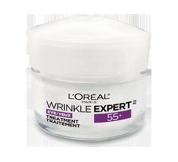 Wrinkle Expert 55+ Calcium crème yeux anti-rides, 15 ml