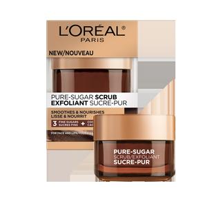 Sucre-Pur exfoliant pour visage et lèvres, 50 ml, peau sèche