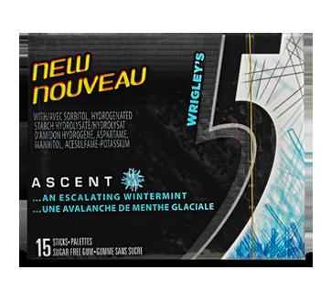 Ascent gomme , 15 morceaux, Avalanche de menthe glaciale