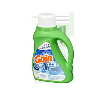 Image 3 du produit Gain - Oxi Boost détergent à lessive liquide eau froide 26brassées, 1,47 L, Icy Fresh Fizz