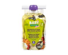 Image du produit Baby Gourmet - Fraises de Chine et prune avec grains anciens, 128 ml