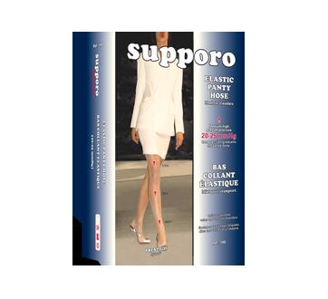 Image du produit Supporo - Bas collant élastique, 20-25 mmhg, moyen, 1 unité, marine