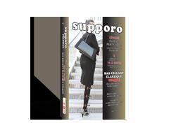 Image du produit Supporo - Bas collant opaque, 16-20 mmhg, grand, noir
