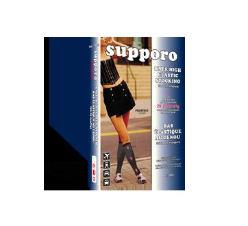 Image du produit Supporo - Bas élastique au genou, 20-25 mmhg, petit, 1 unité, fumé