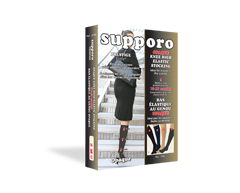 Image du produit Supporo - Bas collant opaque, 16-20 mmhg, moyen, noir