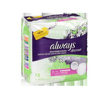 Image 2 du produit Always - Discreet sous-vêtements d'incontinence, absorption maximale, 15 unités, très grand