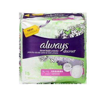 Image 3 du produit Always - Discreet sous-vêtements d'incontinence, absorption maximale, 15 unités, très grand