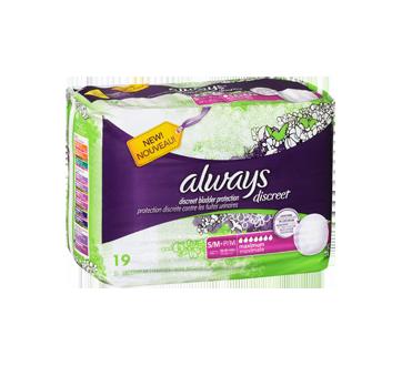Image 2 du produit Always - Discreet sous-vêtements d'incontinence, absorption maximale, 19 unités, petit/moyen