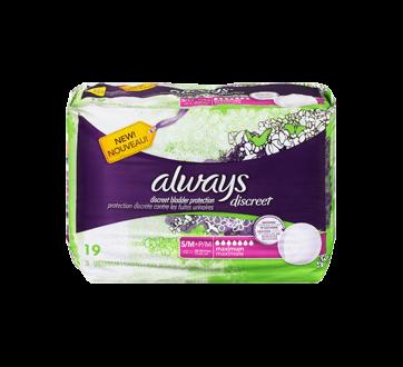 Image 3 du produit Always - Discreet sous-vêtements d'incontinence, absorption maximale, 19 unités, petit/moyen