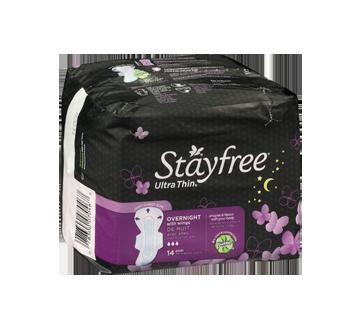 Image 2 du produit Stayfree - Ultra mince nuit avec ailes, 14 unités