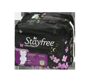 Image 3 du produit Stayfree - Ultra mince nuit avec ailes, 14 unités