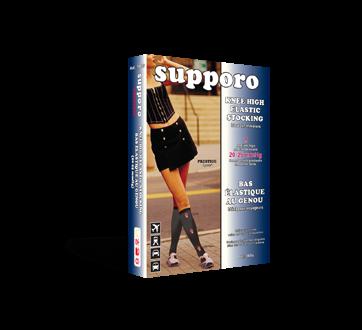 Image du produit Supporo - Bas élastique au genou pour femme, 20-25 mmhg, petit, 1 unité, beige