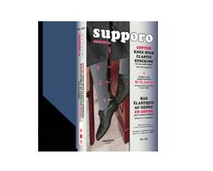 Image du produit Supporo - Bas élastique genou en coton pour homme et femme, confort 10, grand, noir