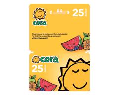 Image du produit Incomm - Carte-cadeau Cora de 25$