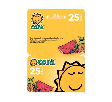 Carte-cadeau Cora de 25$, 1 unité