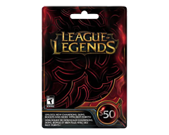 Image du produit Incomm - Carte-cadeau League of Legends de 50$, 1 unité