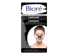 Image du produit Bioré - Bandes de nettoyage en profondeur des pores au charbon, 8 unités