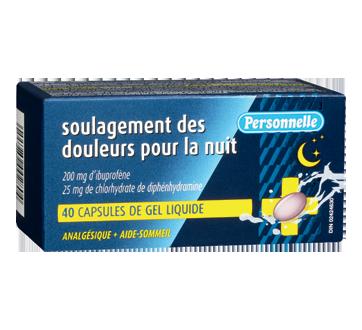 Image du produit Personnelle - Soulagement des douleurs pour la nuit, 40 unités