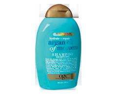 Image du produit OGX - Huile d'argan extra forte du Maroc, shampoing réparateur hydratant, 385 ml