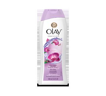 Fresh Outlast nettoyant pour le corps, 400 ml, orchidée apaisante et cassis