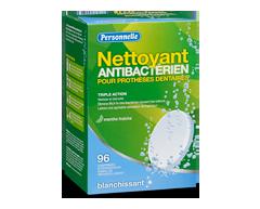 Image du produit Personnelle - Nettoyant antibactérien pour prothèses dentaires, 96 comprimés