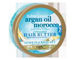 Image du produit OGX - Huile d'argan extra forte du Maroc, beurre crémeux pour cheveux, 187 g
