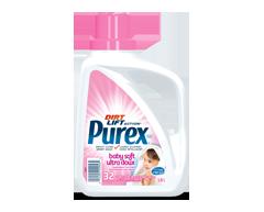 Image du produit Purex - Purex détergent à lessive pour bébé hypoallergénique sans colorants, 1,47 L