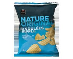 Image du produit PJC Délices - Croustilles ondulées, 42 g, nature