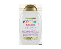 Image du produit OGX - Huile de noix de coco miracle shampooing remède contre les dommages, 385 ml