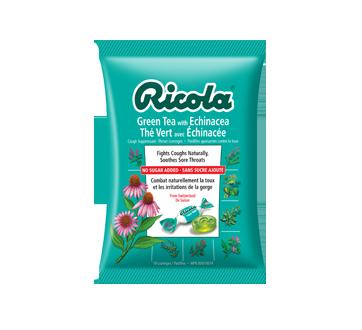 Image du produit Ricola - Pastilles, 75 g, échinacée et thé vert