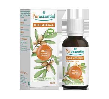 Huile végétale biologique d'argan, 30 ml