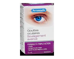 Image du produit Personnelle - Gouttes oculaires, soulagement avancé, 15 ml