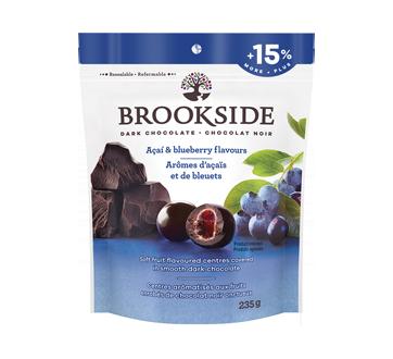 Chocolat noir arômes d'açaïs et de bleuets, 235 g