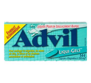 Image du produit Advil - Liqui-Gels, 144 unités
