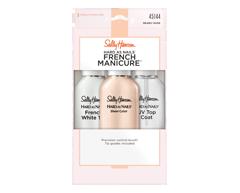 Image du produit Sally Hansen - Hard As Nails French Manicure aide à la manucure , 3 unités, Nearly Nude