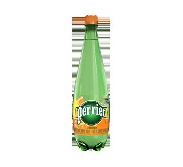 Eau de source naturelle gazéifée, 1 L, orange