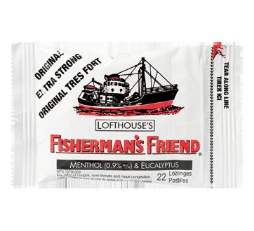 Image du produit Fisherman's Friend - Pastilles originales très fortes, 22 unités
