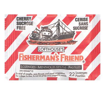 Image du produit Fisherman's Friend - Pastilles à la cerise sans sucrose, 22 unités