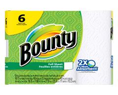 Image du produit Bounty - Bounty® essuie-tout, 6 rouleaux