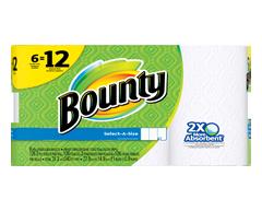 Image du produit Bounty - Sur mesure essuie-tout, 6 rouleaux