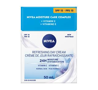 Essentials 24h Moisture Boost + Refresh crème de jour FPS 15, 50 ml, peau normale