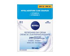 Image du produit Nivea - Essentials 24h Moisture Boost + Refresh crème de jour FPS 15, 50 ml
