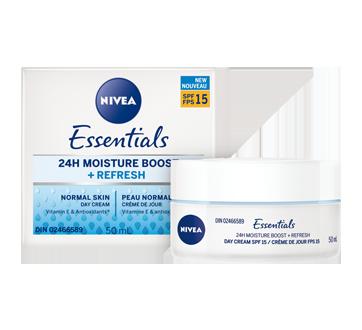 Image 3 du produit Nivea - Essentials 24h Moisture Boost + Refresh crème de jour FPS 15, 50 ml, peau normale