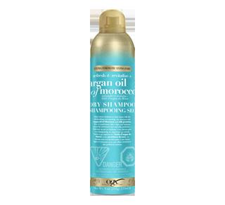 Shampoing sec rafraîchissant et revitalisant à l'huile d'argan du Maroc, 235 ml